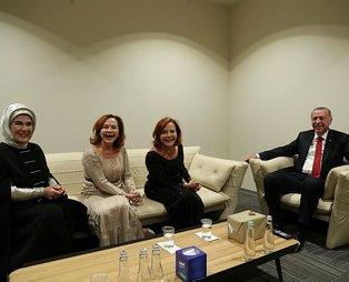 Erdoğan, piyanist Pekinel kardeşlerle bir araya geldi