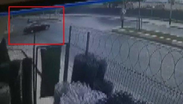 Aşırı hız can alıyordu... Korkunç kaza kameraya böyle yansıdı (Video)