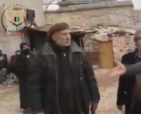ÖSO askerleri, PKKdan kurtardıkları köyde!