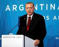 Erdoğan'dan Arjantin'de birbirinden önemli açıklamalar