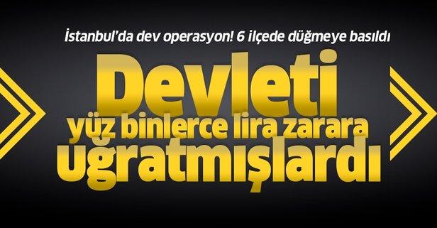 İstanbul'da dev operasyon! Düğmeye basıldı