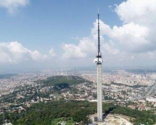 Çamlıca Kulesinin açılış tarihi belli oldu