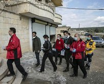 Türkiye virüse karşı Afrin'de de çalışıyor