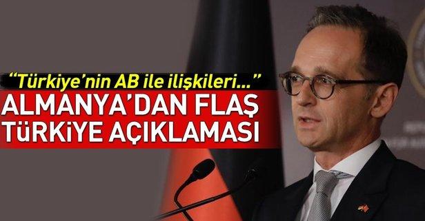 Almanyadan flaş Türkiye açıklaması!