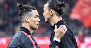 İbrahimovic - Ronaldo kapışmasında olanlar oldu! Uzatma dakikalarında...