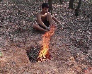 Ormanda yaptıklarıyla 'yok artık' dedirtti!
