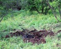 Yayladağı kırsalına 3 top mermisi düştü