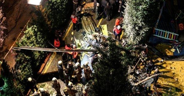 Helikopter kazasıyla ilgili flaş açıklama