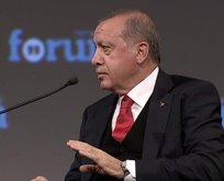 Erdoğan: Sen çiftliktekini ver bakalım