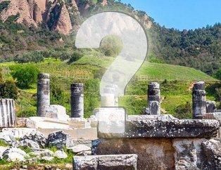 Hadi 13 Kasım: Lidyalıların başlatıp Perslerin geliştirdiği yol hangisi? 12.30 Hadi ipucu sorusu