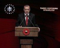 Erdoğan 'Yargı Reformu Strateji Belgesi'ni açıkladı