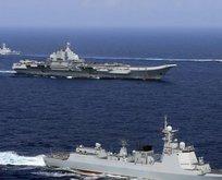 Çin savaş gemileri ABD'ye doğru hareket etti