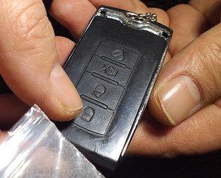 Gören otomobil anahtarı sanıyor ama...