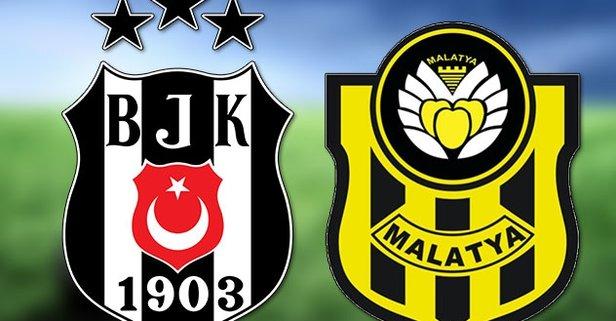 Beşiktaş Yeni Malatyasporu konuk edecek