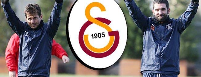 Başakşehirli Arda Turan ve Emre Belözoğlu'dan şok Galatasaray sözleri!