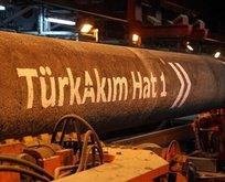 TürkAkım gazı 1 milyar metreküpe ulaştı