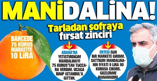 'Mani'dalina! Bahçede 75 kuruş markette 10 lira