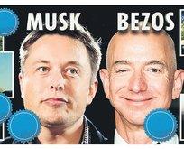 Tesla ve SpaceX ile hızla yükselen Musk, 195 milyar dolara ulaşan serveti ile Bezos'u geçti