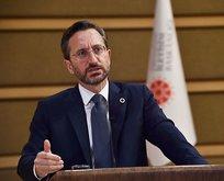 İletişim Başkanı Altun'dan Avrupa'ya çok sert tepki