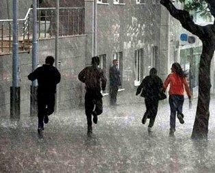 Meteoroloji'den gök gürültülü yağış uyarısı!