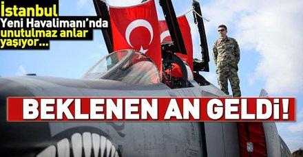 Merakla beklenen Teknofest İstanbul Yeni Havalimanında başladı!