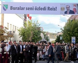 Novi Pazarda Erdoğana destek mitingi
