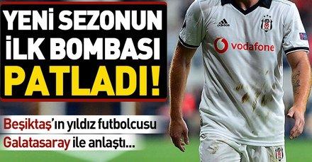 Galatasaray, Beşiktaş'ın yıldızı Gökhan Töre ile el sıkıştı