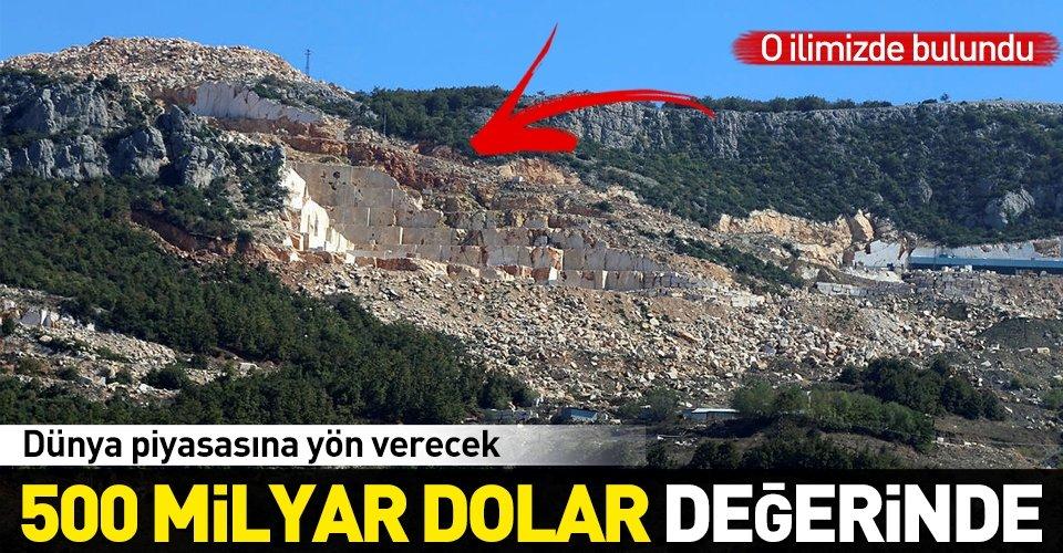 Bursa'da tespit edildi! 500 milyar dolarlık rezerv