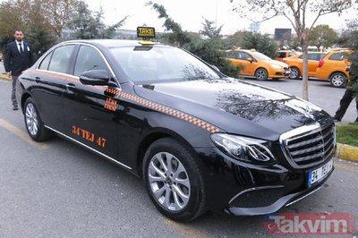 İşte İstanbulun yeni lüks taksileri