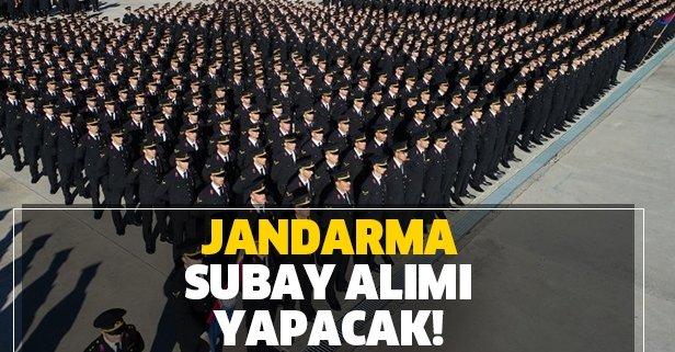 Jandarma muvazzaf-sözleşmeli subay alımı yapıyor!