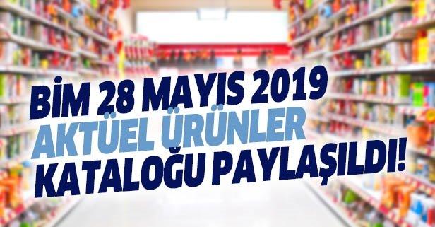 BİM 28 Mayıs 2019! Bu hafta BİM Aktüel ürünler kataloğu sürprizlerle dolu