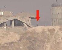YPG/PKK'nın yaşadığı panik kamerada!