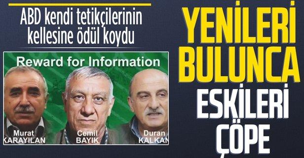 PKK'nın sözde kilit isimleri için ödül hatırlatması
