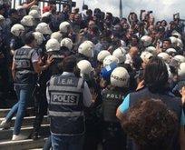İşte HDP'nin çirkin yüzü! Polise saldırdılar