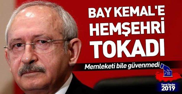 Bay Kemal'e hemşehri tokadı