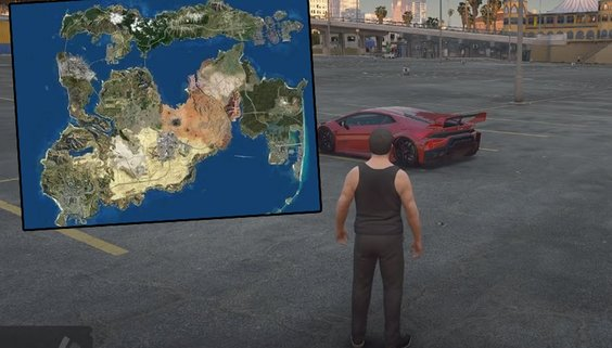GTA 6 ne zaman çıkacak? Devasa harita heyecanlandırdı