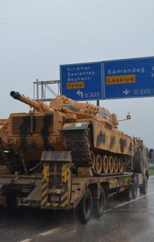 Başkan Erdoğan'ın operasyon açıklaması sonrası sınıra sevkiyat başladı