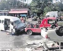 Phuket'te kaza! 5 Türk yaralandı