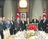 TFF üyelerinden Erdoğan'a ziyaret