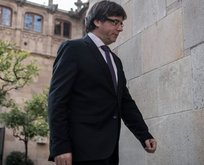Katalan lider Almanya'da gözaltında