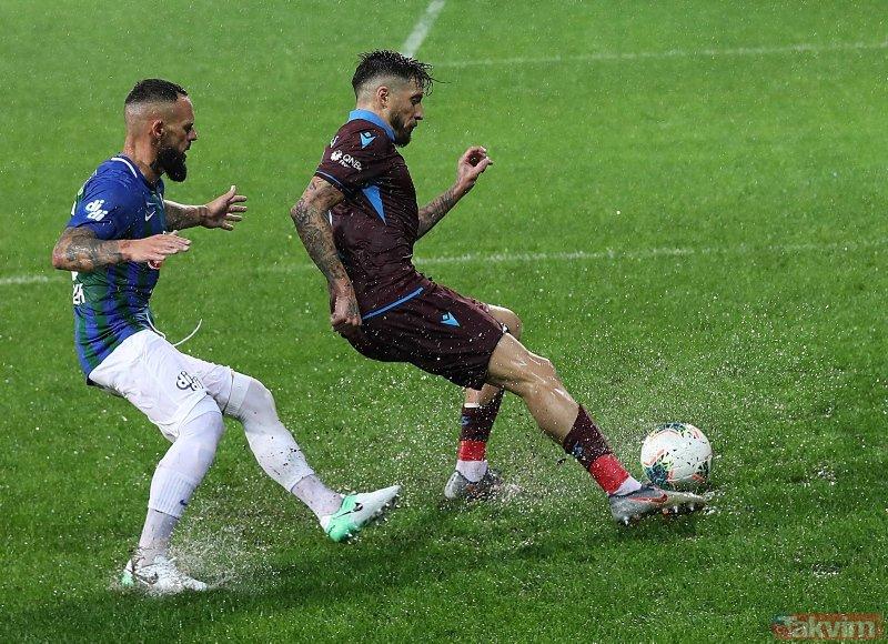 Trabzonspor Teknik Direktörü Ünal Karaman'dan Rize galibiyeti sonrası flaş açıklamalar! Ağır şartlar...