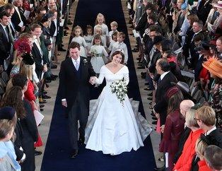 Prenses Eugenienin düğününden çarpıcı kareler