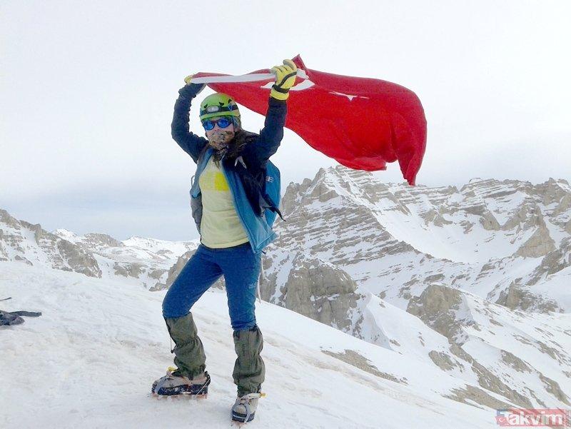 Niğde'de dağcı Hilal İşcan çığ altında kalmıştı... Yaşadığı dehşet anlarını anlattı!