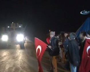 Mehmetçik Suriyeye dualarla uğurlandı