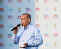 Cumhurbaşkanı Erdoğandan milyonları duygulandıran şiir