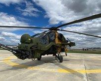 Milli imkanlarla geliştirilen bir Atak helikopteri daha