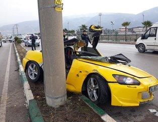 Osmaniye'de korkunç kaza! Deneme sürüşüne çıktı, araç kullanılamaz hale geldi...