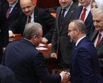 AK Parti'den Bahçeli'ye Şentop teşekkürü
