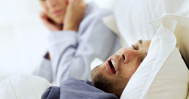 Uyku apnesi cinselliği bitiriyor!