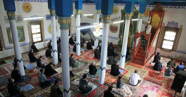 Antik kentteki 6 asırlık cami ibadete açıldı